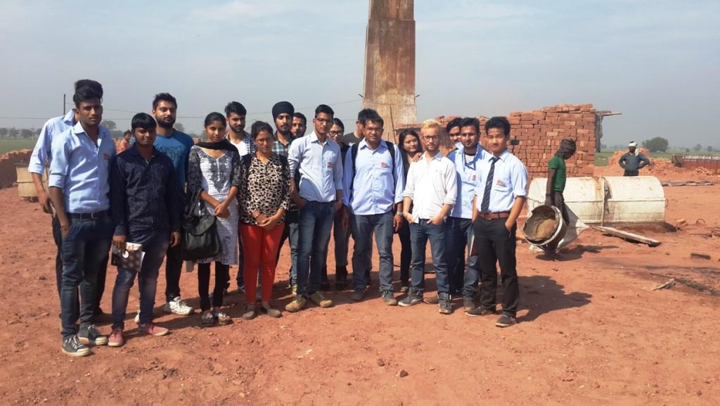 Recreational trip of Civil Final Year to Brick Kiln