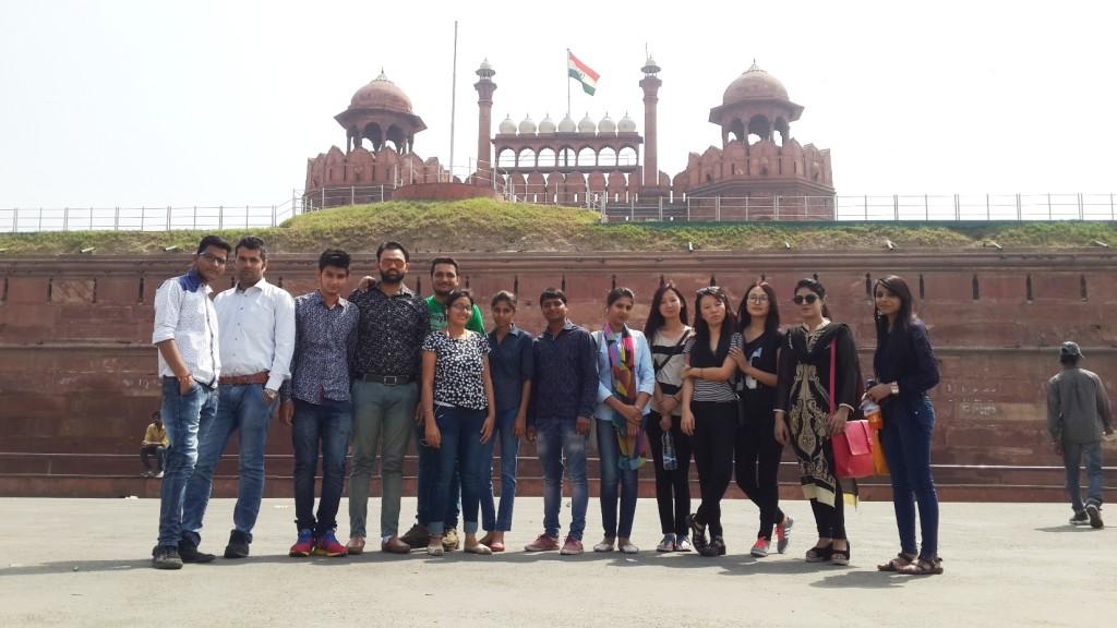 ndustrial Trip of Civil Department (B. Tech. Final Year)
