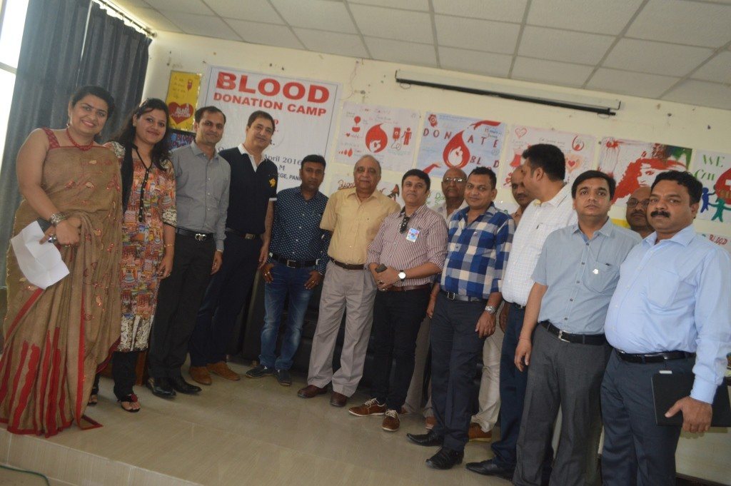 BLOOD DONATION CAMP AT GEETA ENGINEERING COLLEGE ON 08-04-2016