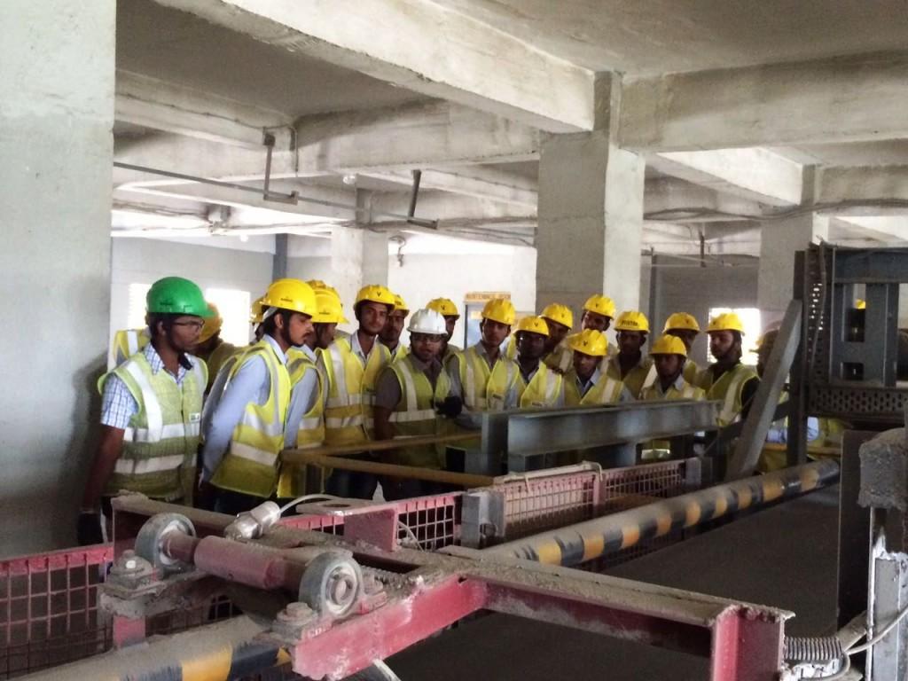 Industrial Trip of Civil Department