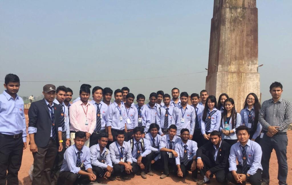 Recreational trip  of Civil B-2 to Brick Kiln
