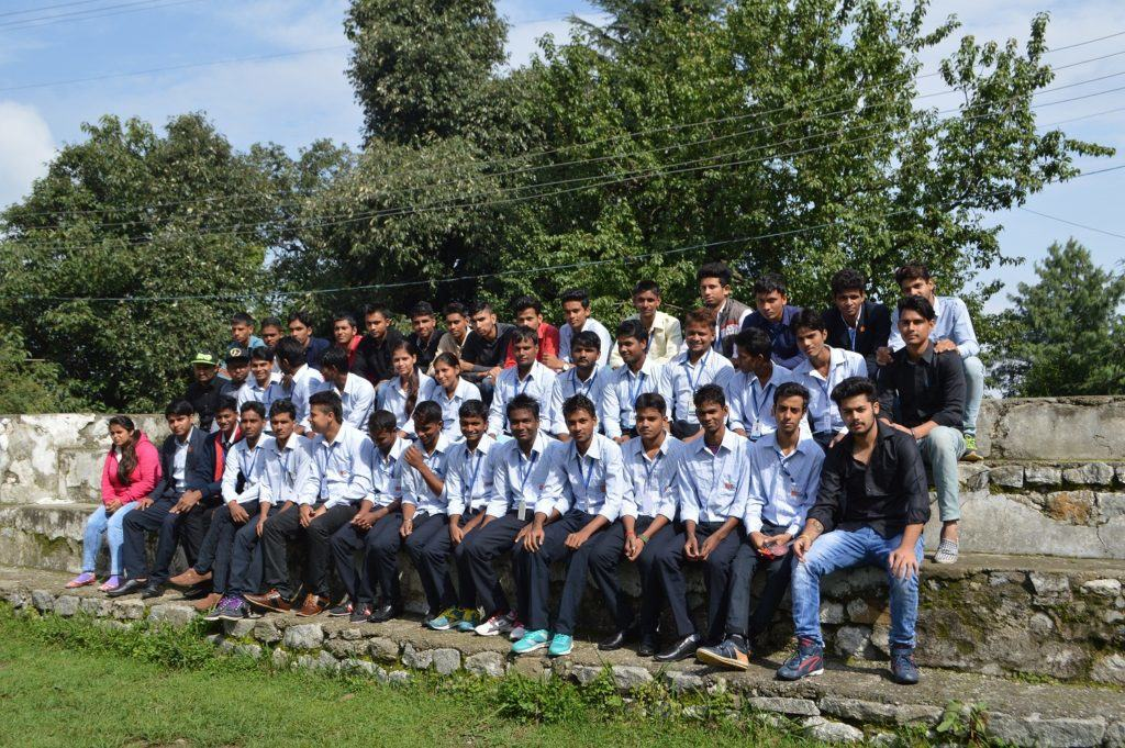 Pics of Survey Camp organised at Dalhousie(H.P.) of Polytechnic students