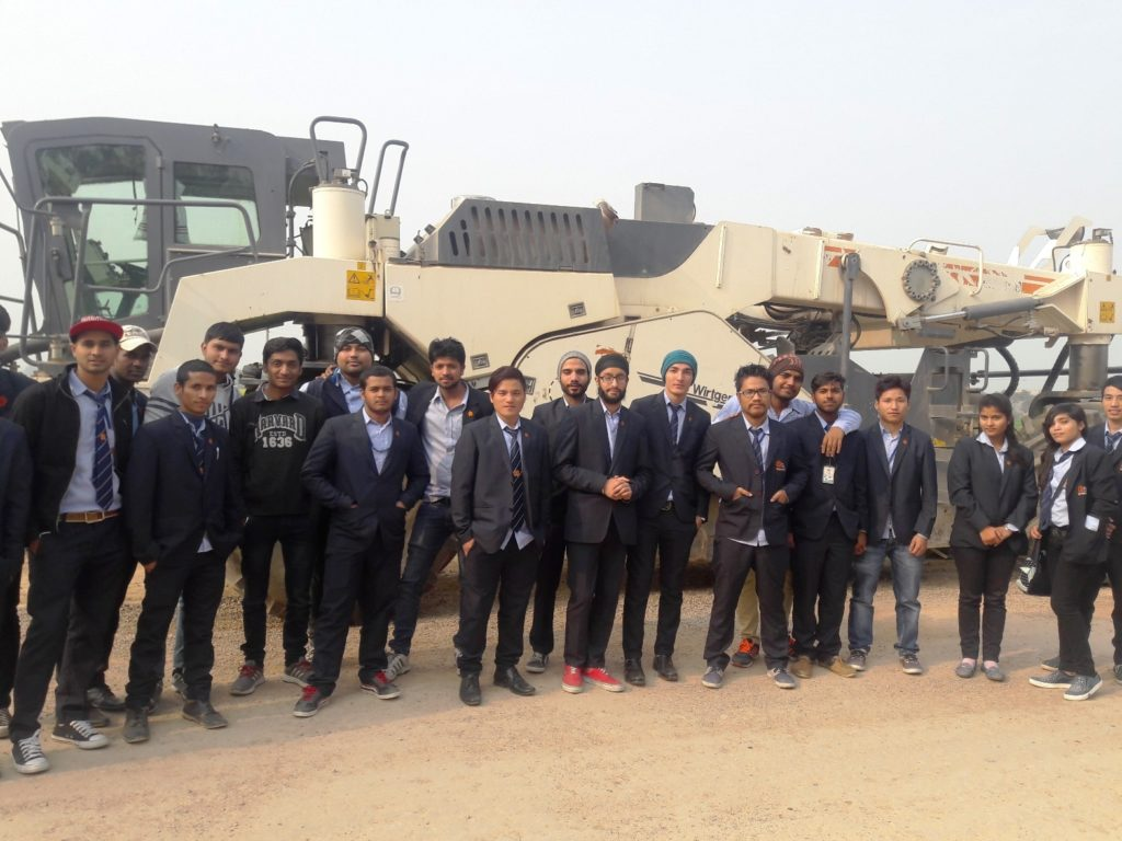 Industrial Trip of B. Tech Civil to Hansi