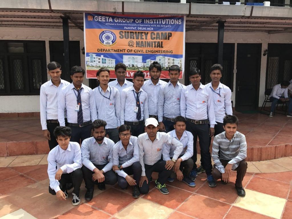 Life of Civil Engineers @ Survey Camp 2017 (Polytechnic)
