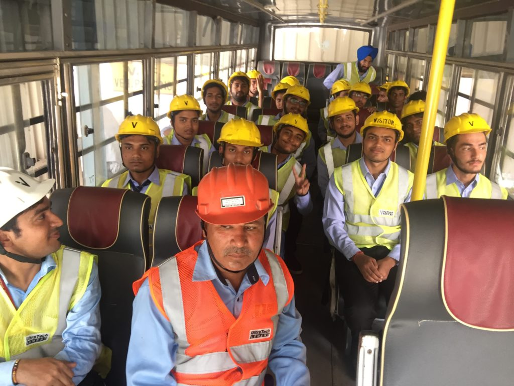 Industrial Visit of Civil to Ultratech