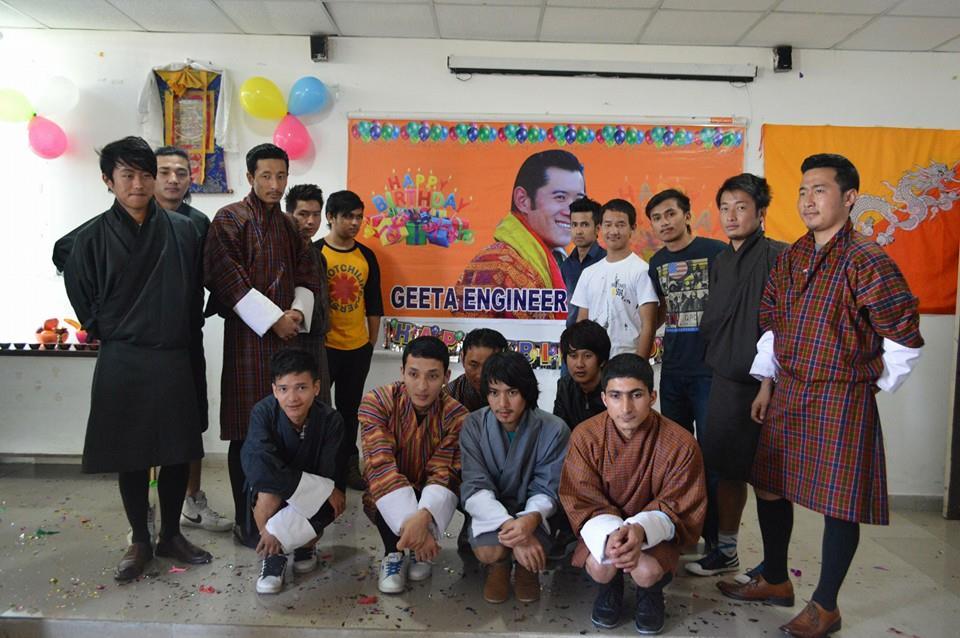 Birthday Celebration Of Bhutan's King