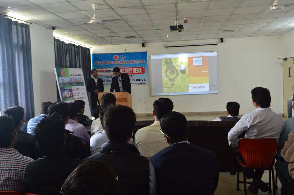 Campus Placement Drive by Sourcekeymedia.in