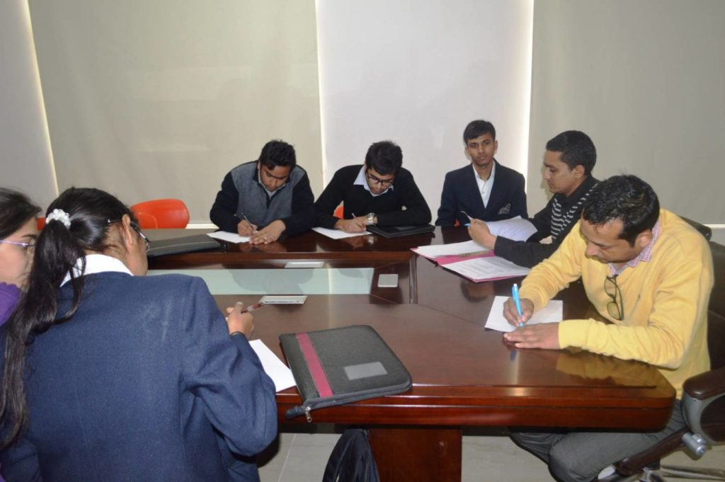 Campus Placement Drive on 16th Feb 2015