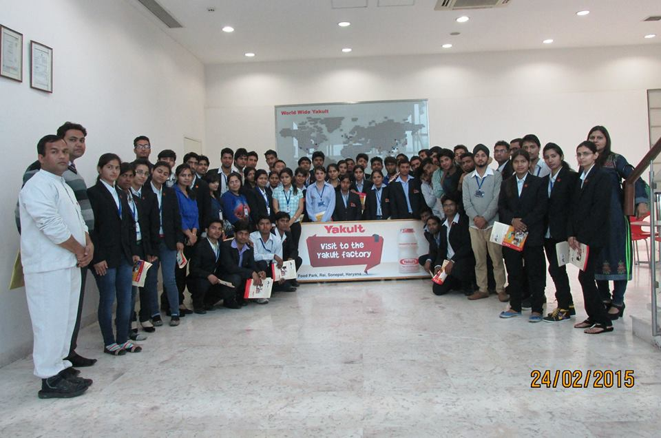 Industrial Visit of MBA Department on 24th Feb 2015