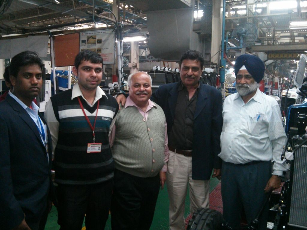 Industrial Visit to Escorts