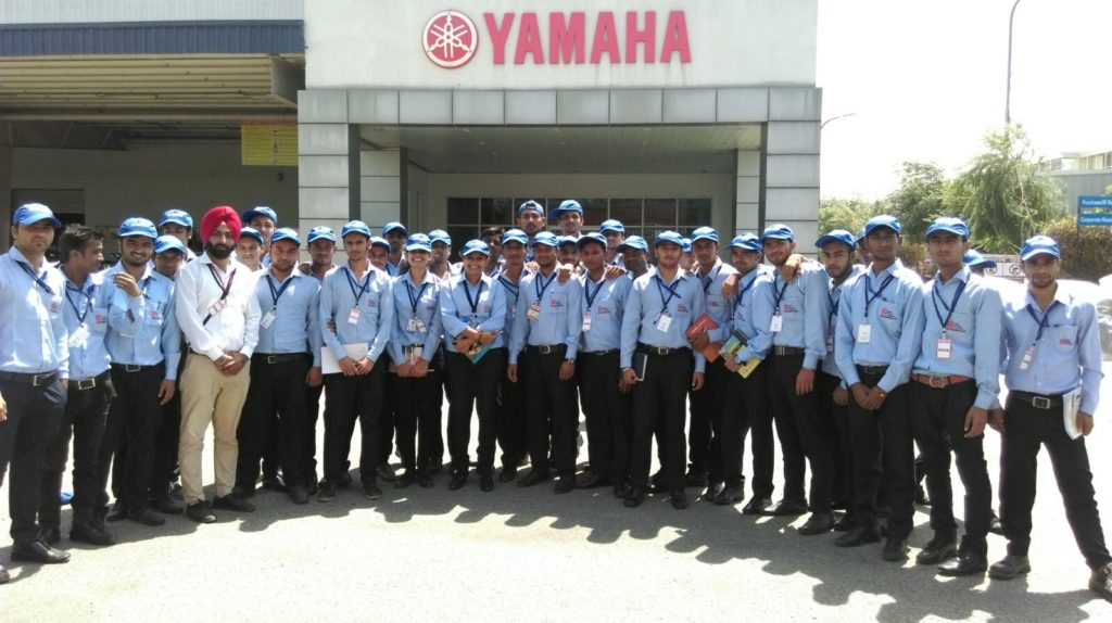 Industrial Visit to Yamaha