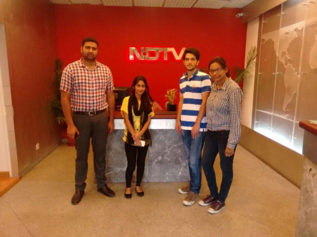 LIVE SHOW AT NDTV IMAGINE