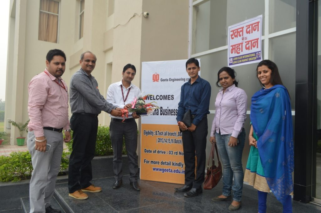 Placement Drive By AVANTHA BSL