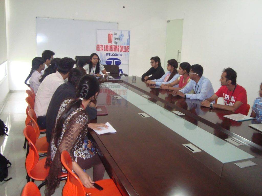 Placement Drive on 6th April 2015