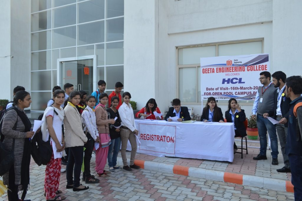 Pool Campus Drive By HCL