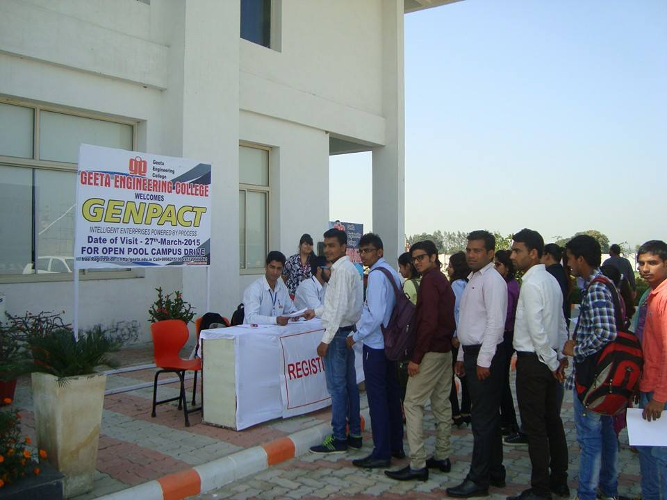 Pool Campus Drive on 27th March, 2015