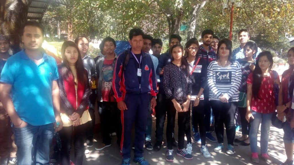 Tour of First Year Students to Manali