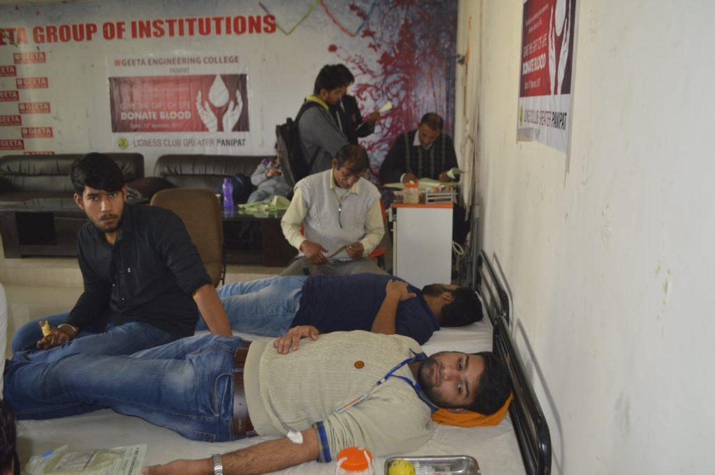 Blood Donation Camp on Nov 13,2017